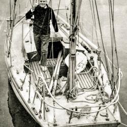Leonid Teliga na pokładzie Opty